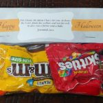halloween candy bag scriptures